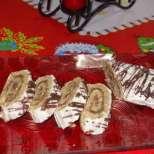 Руло-дръвче без печене