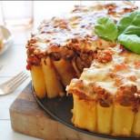 Солена торта от макарони - оригинално и супер лесно