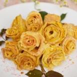 Палачинкови рози - ще впечатлят гостите ви