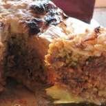 Торта от кисела зелка