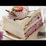 Бърза торта с ягоди - Снежната кралица
