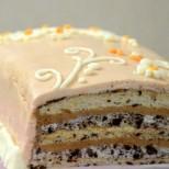 Лешникова Орео торта - сладко вълшебство с много ядки и хрупкави бисквитки
