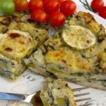 Запеканка Любимка - лесна и бърза, с тиквички и ориз
