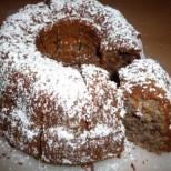 Здравословен шоколадов кекс с ябълки