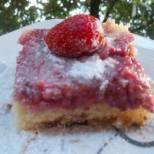 Обърнат сладкиш с ягоди - много лесен и сочен
