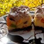 Крем торта с желирани бонбони