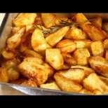 Печени картофи с хрупкава коричка