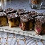 Лесен кекс с кисело мляко и вишни