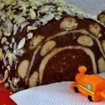 Бисквитена торта Тунел за специални моменти - красива, оригинална и невероятно вкусна