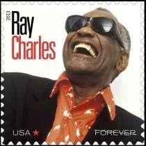 Пощенска марка в чест на Рей Чарлз излиза в САЩ