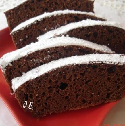 Бърз шоколадов кекс - подготовката отнема 5 минути, само се бърка и пече