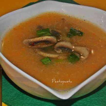 Гъбена крем супичка