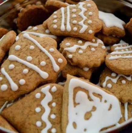 Коледни бисквити с джинджифил