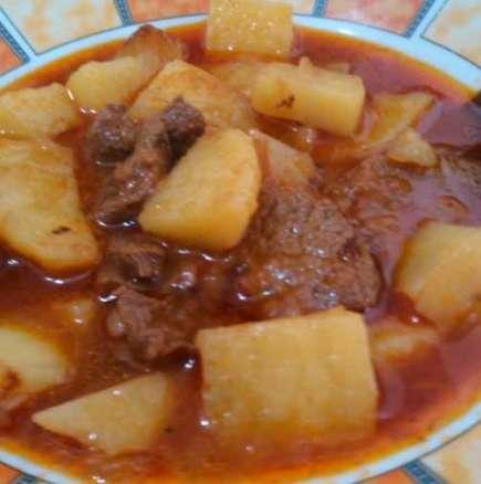 Картофена манджа в тава