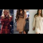Как да носите плетени рокли тази зима и за пролет 2017 (Видео)