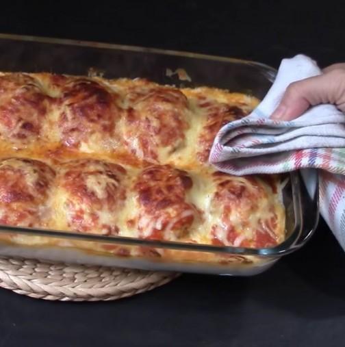 Надминах себе си просто с това ястие, всички гости ми искаха рецептата, а свекърва ми за първи път призна, че съм добра в кухнята