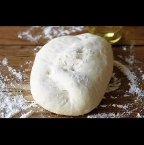 Лудо тесто: Може с дни да седи в хладилника и пак да бъде меко - идеално за пица, кифлички ... каквото пожелаете