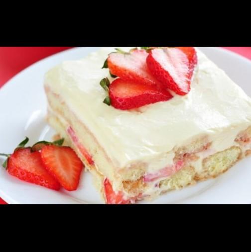 Прави се светкавично, яде се още по-бързо и ще изкуши и най-злоядите: Лесен и бърз десерт без печене