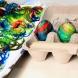 Миналата година бяхме за Великден в свекърва ми, леле какви яйца беше боядисала-  истински шедьовър, да ти е жал да ги изядеш
