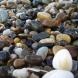Бях си събрала малки камъчета и ако знаете какво ми хрумна, налепих ги и се получи нещо невероятно красиво (снимки)