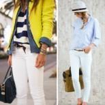 Как да комбинирате белите дънки през лято 2017