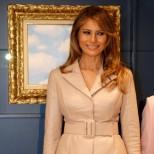 Съпругата на президента, Десислава Радева на снимка с Мелания Тръмп