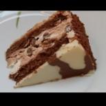 Признавам си това е най- яката торта, която някога съм яла, колкото и да не харесвам свекърва ми, факт сладкарка голяма е!