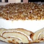 Направих тази торта за рождения ден на съпруга ми! Когато я опитате ще разберете защо се казва Сладко чудо!