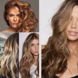 Правила при боядисване на кестенява коса