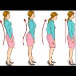 Ето как да разберете дали имате правилна стойка и походка и с какви упражнения може да я оправите (снимки)