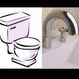 Натуралното средство за почистване на тоалетната и банята! Стават снежно бели, работи безотказно!