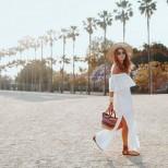Модерни бели рокли лято 2017