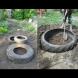 Първо изкопа дупките, а после дотъркаля стари гуми: съседката пак е намислила нещо! Сън не ме хвана, а на другия ден ахнах от изненада: