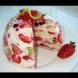 Тази торта приготвих по повод рождения ден на дъщеря ми! Всички искаха рецептата на това лятно изкушение!