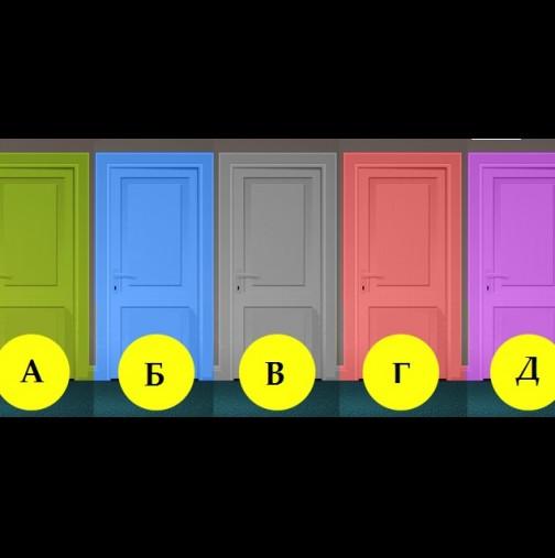 Казват, че вратата, която изберете ще предскаже вашето бъдеще! Е моята беше супер точна!
