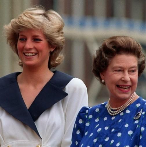 За пръв път показаха тайното писмо на кралица Елизабет II във връзка с Даяна