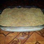 Лесна бисквитена торта с грис и хрупкави трохички