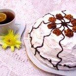 Торта Сладко изкушение - изкусителна комбинация от вишни и шоколад