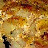 Печени млечни картофи по френски