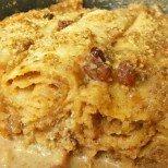 Палачинков сладкиш с орехи и захар