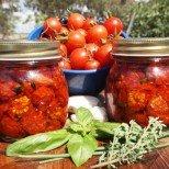 Как да си направим сушени домати за зимнина