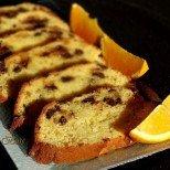 Фин портокалов сладкиш с шоколадови късчета - божествено съчетание на вкусове!