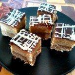 Превкусен непечен сладкиш с карамел и шоколад - наслада за всички сетива