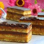 Торта Опера - симфония от кафе и шоколад
