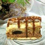 Мързелива торта с кроасани - без печене!