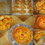 Сиренки и весела питка от едно тесто