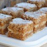 Крем торта с ябълки и ванилов крем - истинска симфония от вкусове, събрана в малко калории