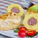 Пълнени картофи с кюфте - нещо по-така за най-претенциозните!