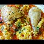 Пиле яхния с вино - да сготвим бързо и вкусно