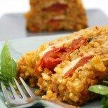 Оризов кейк с пилешко и моцарела - или пиле с ориз в нова премяна